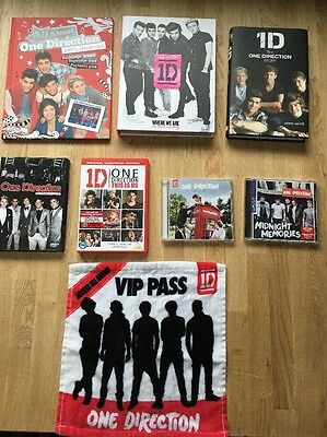 One Direction Book/CD/DVD Bundle