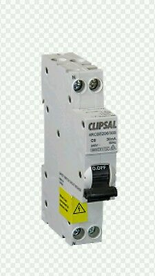 Clipsal 10A RCBO RCD MCB Safety Switch Circuit Breaker Double Pole