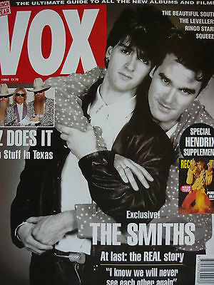 Vox Magazine Issue 21 June 1992 - The Smiths - Xtc - Levellers
