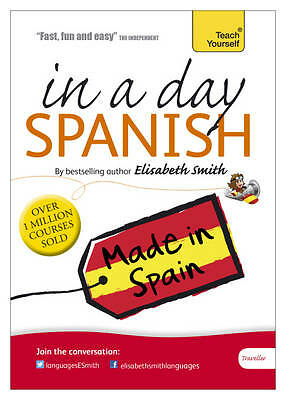*BN&S* Beginner's Spanish in a Day: Teach Yourself: Audio CD by Elisabeth Smith