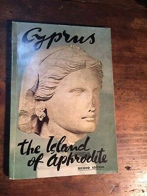 "Vintage & Rare 1963 Greek Book ""cyprus The Island Of Aphrodite"""