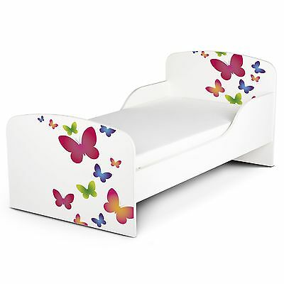 Butterflies Mdf Toddler Bed New Furniture