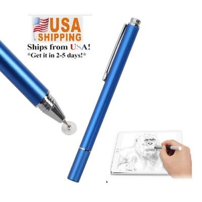 USPS Fine Point Stylus Pen for Smart Phone Samsung Galaxy s8 plus -DARK Blue