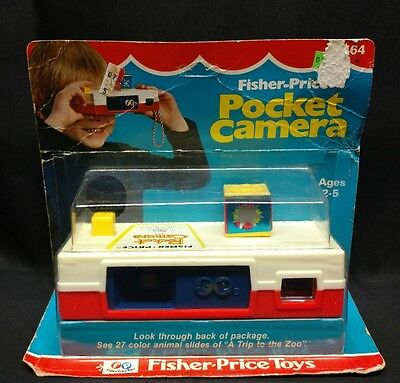 Fisher Price Toys 1974 Pocket Camera A Trip To The Zoo Original Package