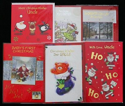 Job Lot of 20 Individual Christmas Cards sealed with Envelopes