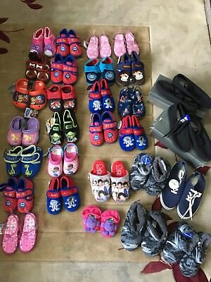 Joblot 29 Pairs Slippers & Boys/girls/kids Bnwt