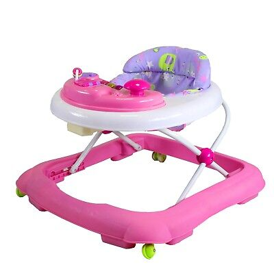Red Kite Baby Eleflump Baby Go Round Jive Walker With Removable Play Tray Pink