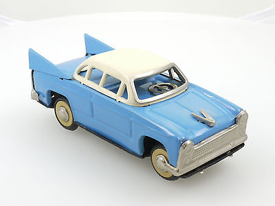 MF 083 China Chevrolet Bel Air blau/weiß Blech Tin Toy Friktion 1410-14-27