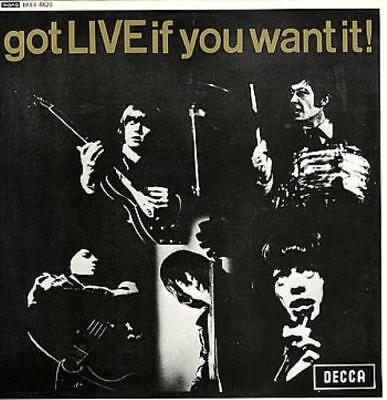 """Rolling Stones Got Live If You Want It EP UK 12"""" vinyl single record (Maxi)"""