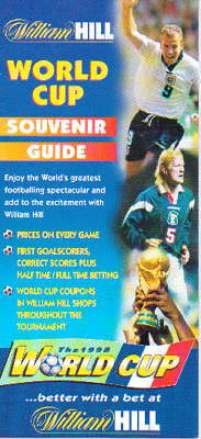 World Cup 1998 - Fixture List By William Hill