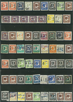 New Zealand Selection Social Securety Stamps