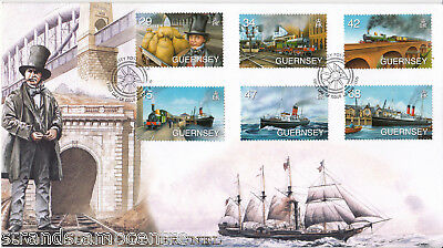 2006 Guernsey Kingdom Brunel Celebration - Buckingham 'Railway' Series Cvr