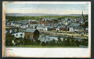 C1906 Col Pc - Overview Of Dumfries