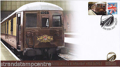 2012 Brighton Belle's Withdrawal 40th Anniv - Buckingham 'Railway' Series Cover