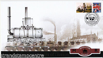 2012 Celebrating 200 Years of Steam - Buckingham 'Railway' Series Cover