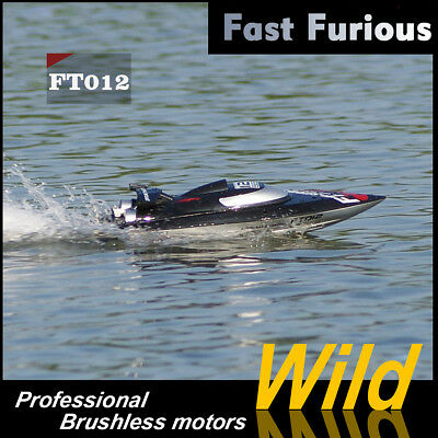 Original FT012 2.4G 4CH RC Boat Remote Control 45KM/H HIGH SPEED Race Boat Toy