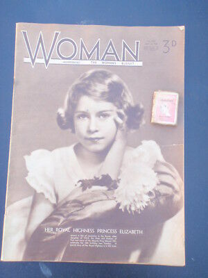 "1936  ""Woman"" Magazine, mickey Mouse Comic inside"