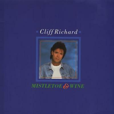"Mistletoe & Wine Cliff Richard 12"" vinyl single record (Maxi) UK 12EM78 E.M.I."