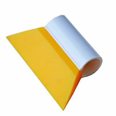 "3-1/2"" Mini Yellow Turbo Squeegee Scraper For Auto Window Tint Film Water Clean"
