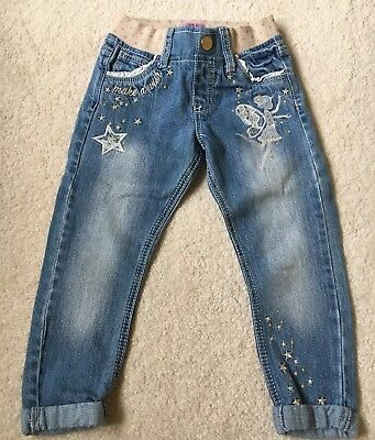 Girls Fairy Jeans Age 2-3 Years