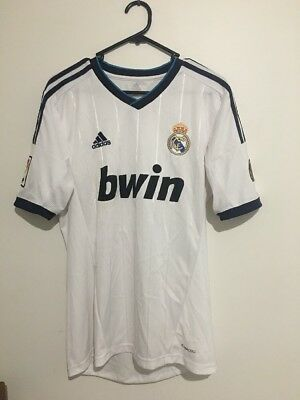 Men's Large Authentic 2014 Real Madrid Jersey