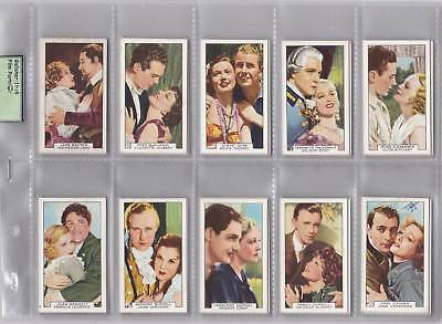 Cigarette Cards - Film Partners -Issued in 1935 - Full set of 48 cards