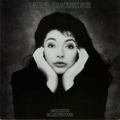 "Kate Bush 12"" vinyl single record (Maxi) This Woman's Work - Poster Sleeve UK"