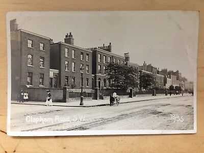London RP Clapham Road S.W. Stockwell Brixton quality card PU 1910