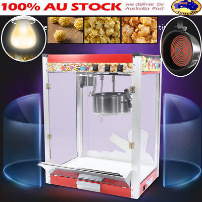 8oz Commercial 3 Control Switch Popcorn Machine Pop Corn Popper Maker For Party