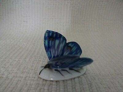 """Karl Ens Volkstedt 1900's Porcelain Hand Painted """"Butterfly"""" Figurine STUNNING"""