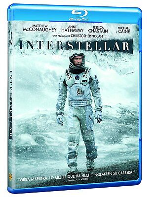 """interstellar""  Blu Ray Precintado Con Castellano"