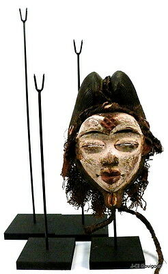 SOCLE  POUR  MASQUE  AFRICAIN  32  cm - Mask  stand 32 cm (1,05 ft)