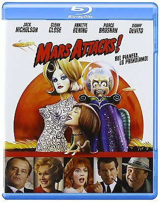 """mars Attacks""  Blu Ray Precintado Con Castellano"
