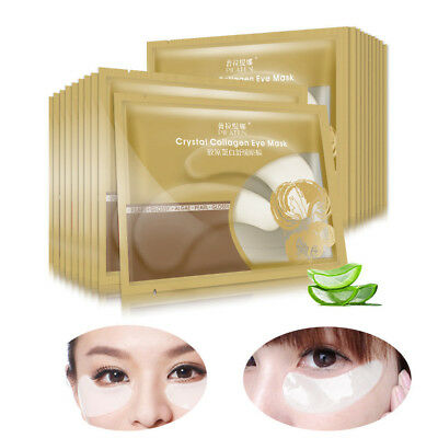 2X Anti Aging Anti Puffiness Gold Eye Mask Patches Collagen Crystal Gel Bio Pads