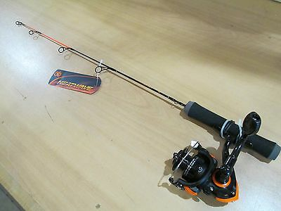 No. 8  HEATWAVE Ice rod and reel combo    24 inch ultra light action