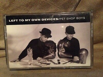 Pet Shop Boys Left To My Own Devices Cassette Single