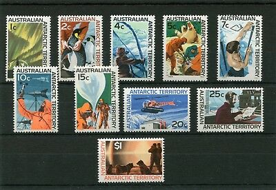 Australian Antartic Territory.10 -- 1966 Mm Stamps On Stockcard. Cat £45
