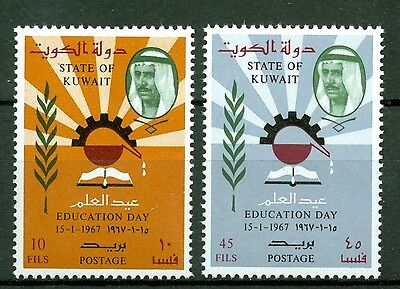 Kuwait 1967, Education day Book Read, MNH 4065