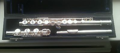 Trevor James Virtuoso Flute With B Foot And Open Holes