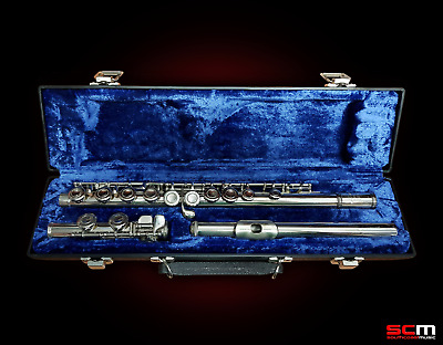 Yamaha YFL24N Student Flute Hard Case - Care Kit - Made in Japan Fully Serviced