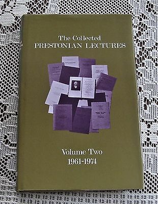 Freemasonry The Collected Prestonian Lectures Volume Two 1961-1974