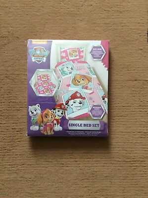 paw patrol single bed quilt