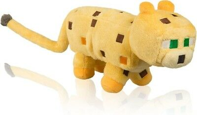 """Minecraft 14"""" Ocelot Plush With Hang Tag  - BRAND NEW"""