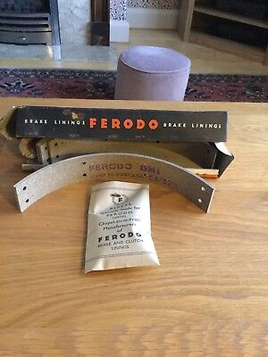 Ferodo Brake Linings Liner NOS Vintage/Classic Part DM1 F21c - Genuine