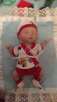OOAK Baby Boy Mini Doll By Phil Donnelly