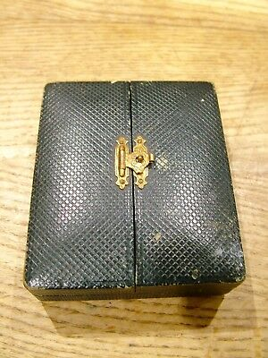 Antique Empty Jewellery Box Watch Pendant No Reserve