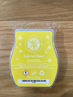 Scentsy FRESH CUT DASIES Wax Bar