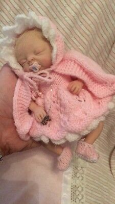 OOAK Baby Girl Mini Doll By Phil Donnelly