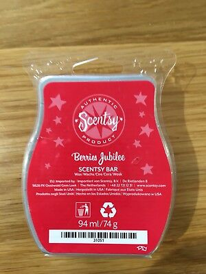 Scentsy BERRIES JUBILEE Wax Bar