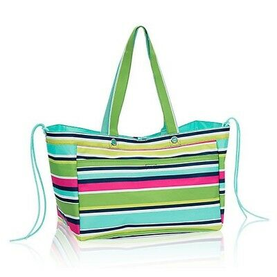 Thirty One 31 Gifts Soft Utility Tote BRAND NEW - Preppy Pop